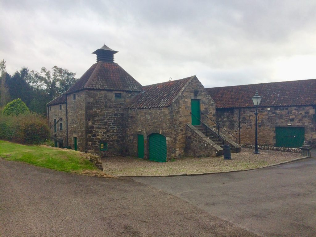 Daftmill Distillery one of the newer whisky ventures in the Lowlands